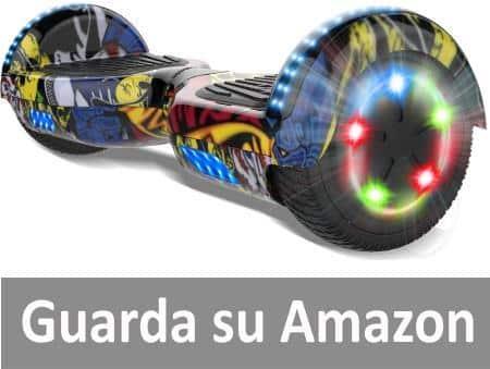 "COLORWAY Elettrici Scooter 6.5"" E-Skateboard 2 x 350W Smart"