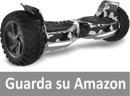 Double Hunter Hoverboard Fuoristrada 8,5 Pollici