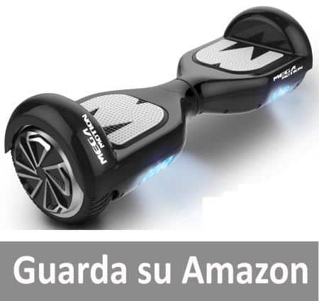 Mega Motion Self Balance Scooter Elettrico E1-6.5""